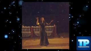 🔥Цыганочка танцует под снегопадом. Очень красиво!