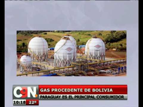Paraguay es el mayor consumidor del gas licuado exportado por Bolivia