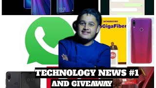 TECHNOLOGY NEW #1 ! LATEST TECHNOLOGY NEWS! PLUS GIVEAWAY MUST WATCH AND PARTICIPATE