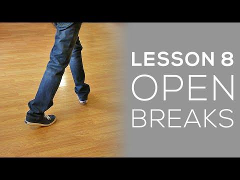 SALSA ON2 - Partnerwork Basics Lesson 8 - Open Break
