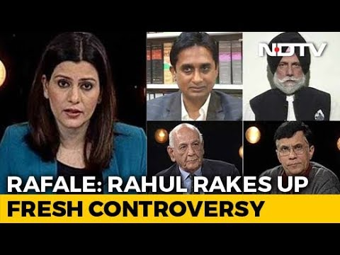 Rahul Gandhi Rakes Up Fresh Controversy In Rafale Deal
