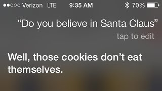 Siri On Santa Claus
