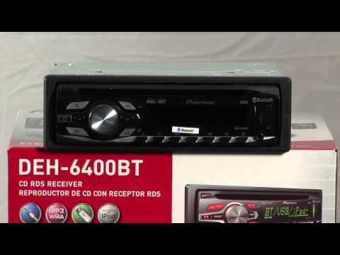 DEH-6400BT - CD Receiver with Dot Matrix LCD Display, Color ... on