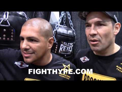 FERNANDO VARGAS RIPS OFF SHIRT AND FACES OFF WITH SERGIO MARTINEZ