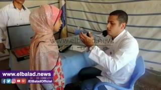 قافلة طبية لمديرية أمن البحيرة للكشف عن المرضى.. صور وفيديو