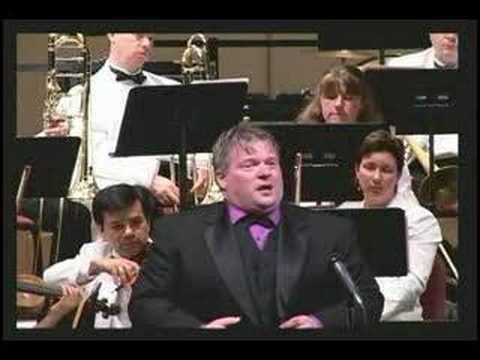 Jonathan Wright sings Nessun Dorma