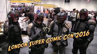London Super Comic Con 2016