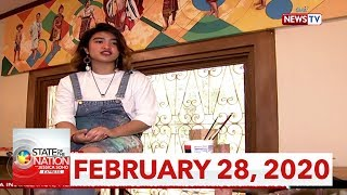 State of the Nation with Jessica Soho Express: February 28, 2020 [HD]