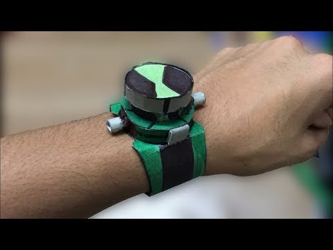 How to make a Ben 10 Alien Force Omnitrix