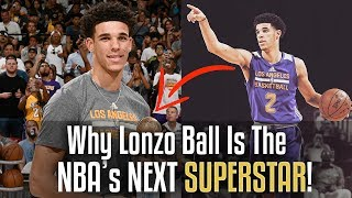 Why Lonzo Ball Is The NBA's NEXT SUPERSTAR!