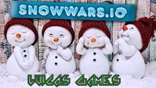 Snowwars.io Juego online Multijugador Gratis para PC en Navegador Web