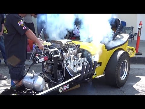 16th Annual Old Town Montrose Car Show (2017) - Nitro Thunderfest/Cacklefest