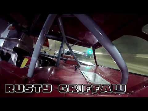 In Car Cam of Rusty Griffaw at Highland Speedway 5-18-19