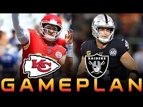 Chiefs Vs Raiders Gameplan Patrick Mahomes To Kelce + Hardman     Kansas City Chiefs News NFL 2019