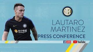 LAUTARO MARTINEZ | PRESS CONFERENCE | Inter 2018/19 🎙️⚫️🔵