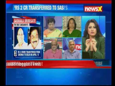 Nation at 9: Ex-state official spills beans; says Rs 2 cr transferred to Sasikala's nephew