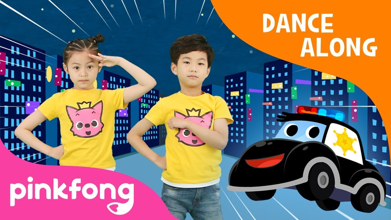 Police Car Dance | Dance Along | Pinkfong Songs for Children