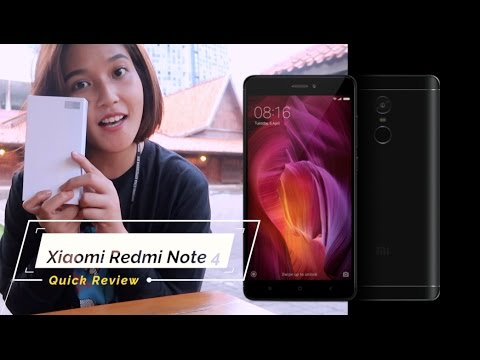 Xiaomi Redmi Note 4 Quick Review - Indonesia #KompasTekno