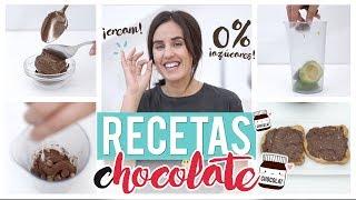 Nutella light casera para untar BAJA EN CALORÍAS   Recetas fáciles GymVirtual
