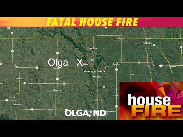 UPDATE: Fatal Northeast North Dakota House Fire