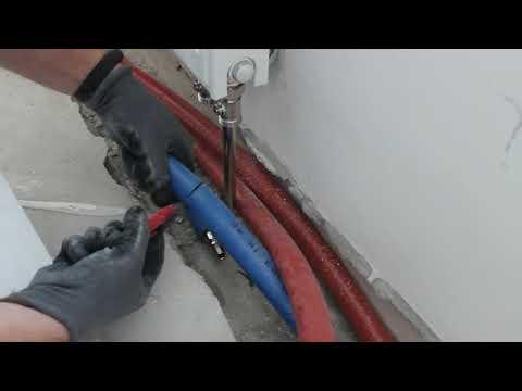 Монтаж и подключение радиатора отопления