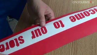How to use Redsail cutting plotter vinyl cutter