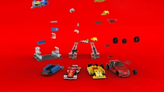 The Shell V-Power LEGO Collection - Full range