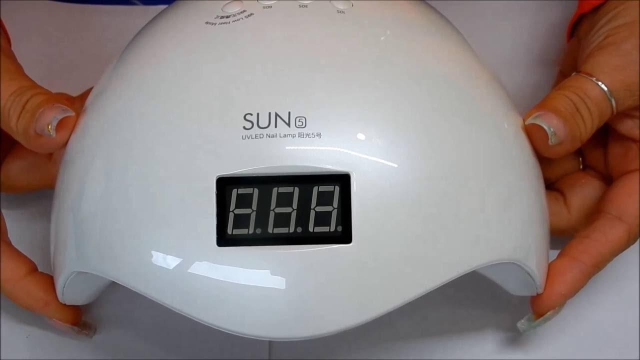 Sun5 UV/Led( 36 watt )Lamp Review---State of the Art---Low Heat Mode ...