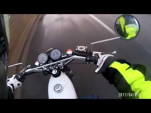 Yamaha RD50 first run
