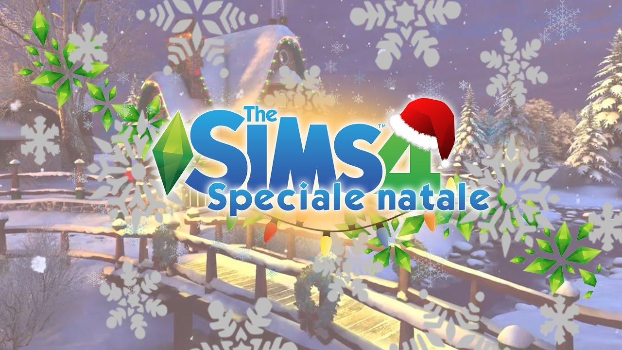 Decorazioni Natalizie The Sims 4.The Sims 4 Speciale Natale