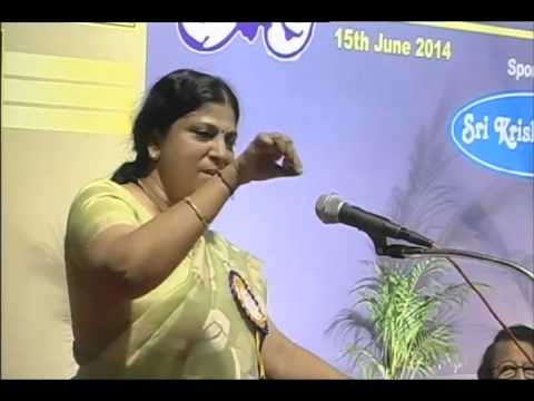 Advocate Sumathi talks about Rajnikanth, Visu, SPM on 31st Anniversary Celebration of Humor Club