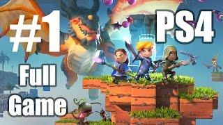 #1 Portal Knights (PS4 Full Game) Gameplay 60fps - Let's Play Walkthrough Part 1 (Ranger)