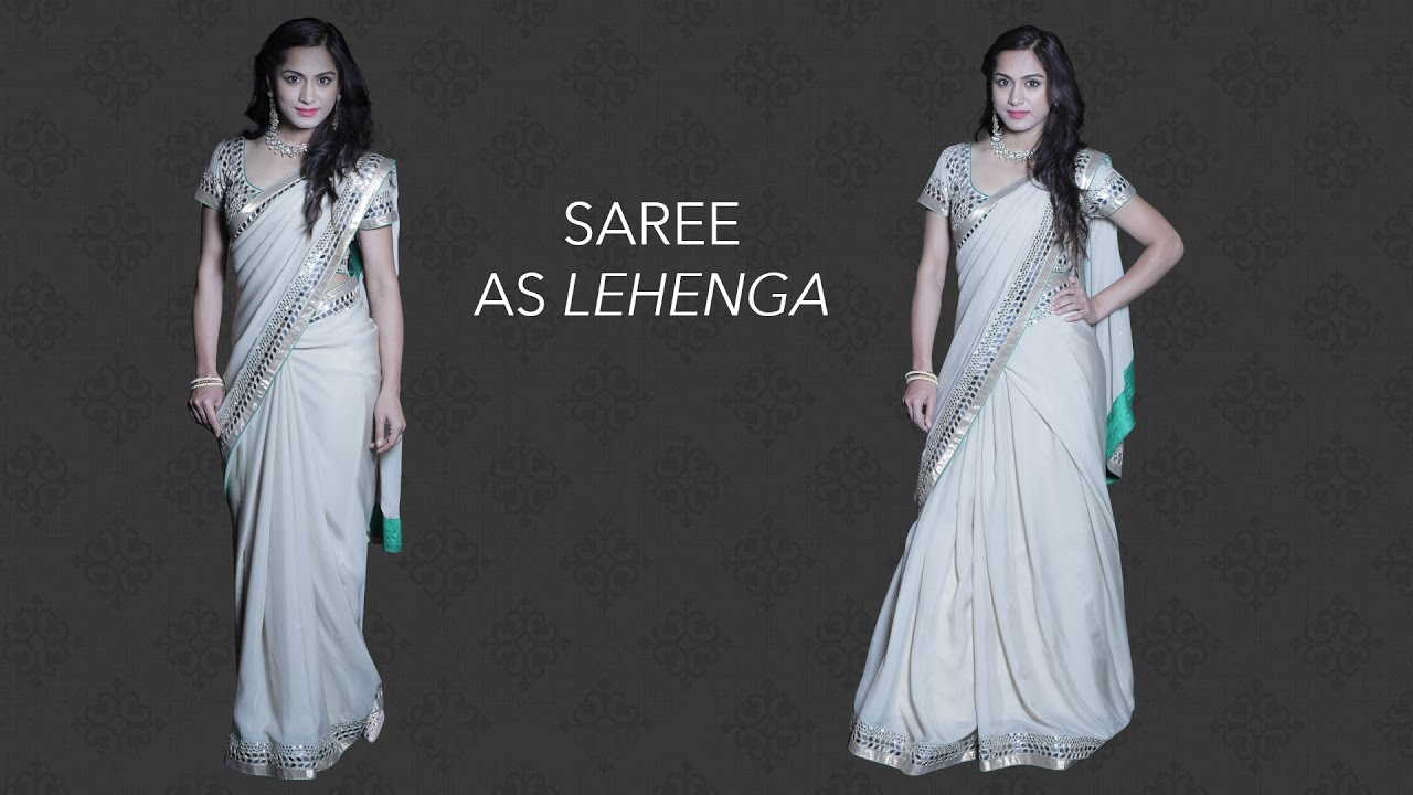 dress - How to saree wear easy steps video