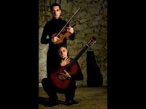 Marco Misciagna - Vito Vilardi: Giuliani - Duo Concertante op. 25 for violin & guitar (Maestoso)