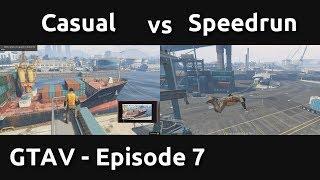 Casual VS Speedrun in GTAV #7 - Technically Boring