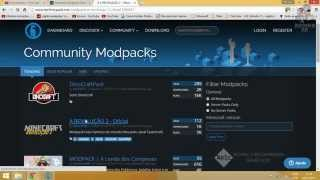 Como instalar modpacks no novo Technic Launcher