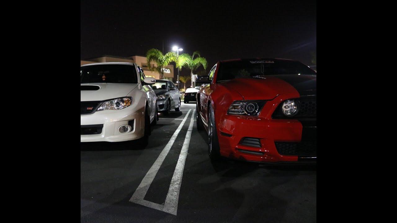 Mustang Gt Vs Subaru Impreza Wrx Sti