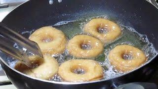 Homemade Donuts Recipe (doughnut)   Simple Donuts Recipe