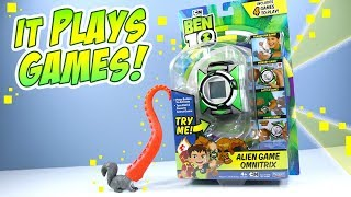 Ben 10 Reboot Alien Game Omnitrix Review Playmates Toys