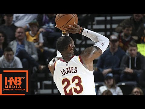 Cleveland Cavaliers vs Utah Jazz Full Game Highlights / Dec 30 / 2017-18 NBA Season