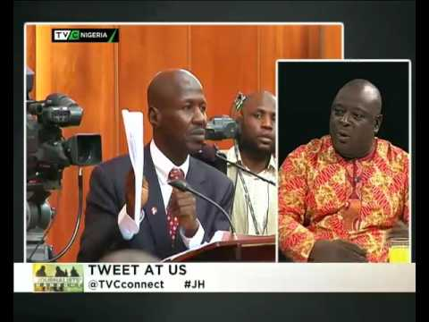 Magu's non-clearance at the senate  Journalist Hangout 16th March
