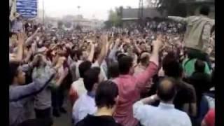 أهازيج أهالي حمص في اعتصام الساعة 18 4