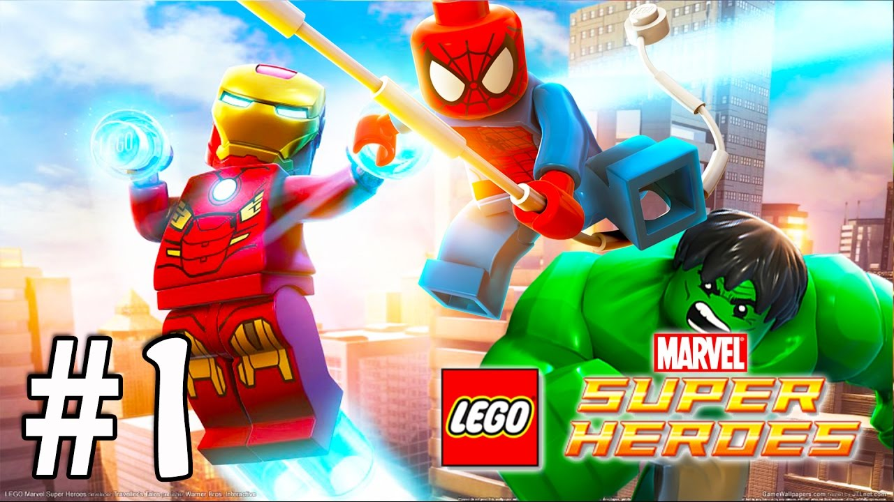 Super Heroes Animados Niños: SPIDERMAN, HULK Y IRON MAN LEGO SUPER HEROES MARVEL Videos