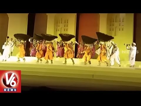 Telangana Cultural Events Attracts Foreign Delegates at Golconda Fort | Hyderabad | GES 2017 | V6