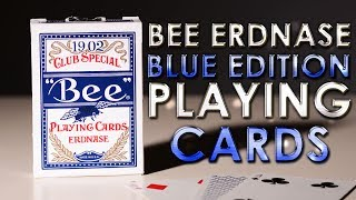 Deck Review - Bee Erdnase Blue Club Special 1902 Playing cards