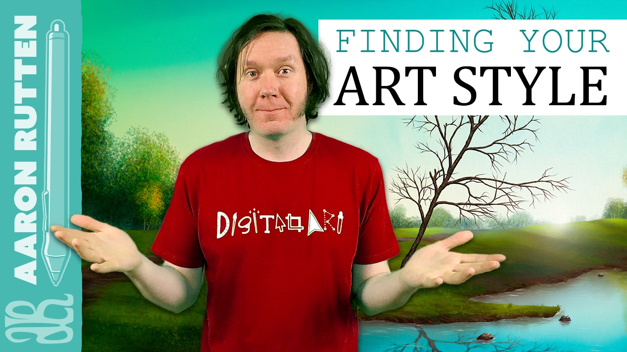 How To Find Your Art Style Digital Artist Vlog Youtube