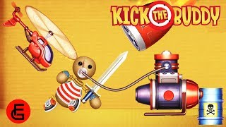 All DIAMOND Weapons vs The Buddy | Kick The Buddy | Android Games 2018 Gameplay | Friction Games