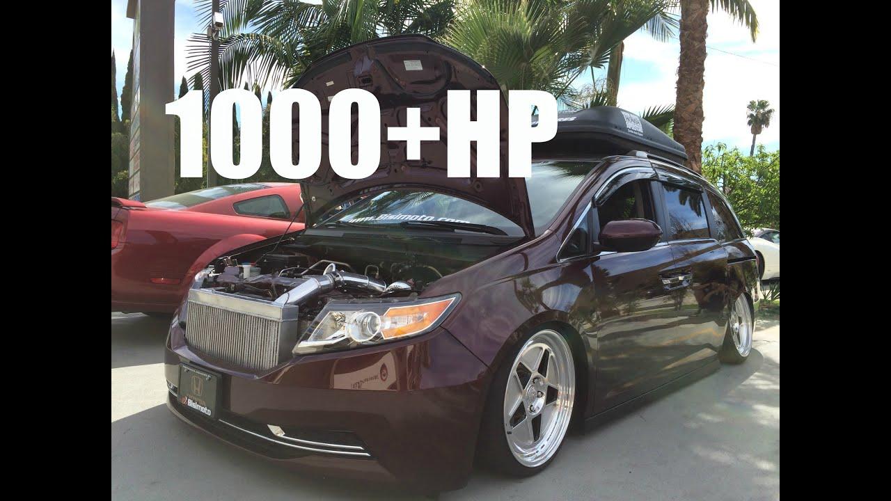 1000hp Honda Odyssey >> 1000+HP Bisimoto Honda Odyssey - YouTube