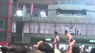 2015年6月20日に石川県のこまつドームで開催された大相撲南加賀場所(地...