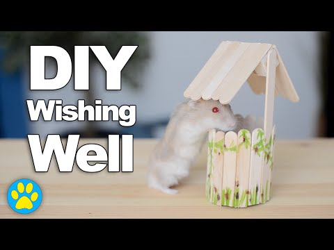 DIY Wishing Well Cage Decor | #DIYJuly
